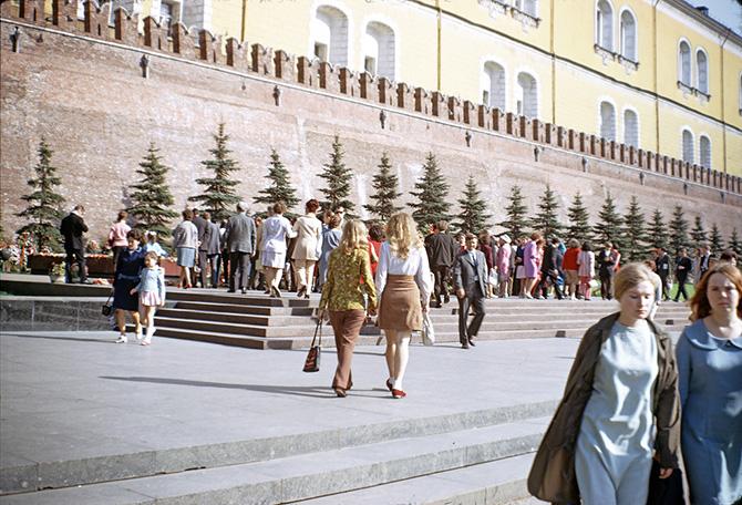 СССР 1973 года в цвете