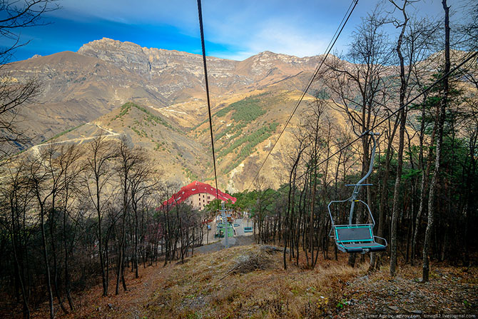 Прогулка по горам Ингушетии