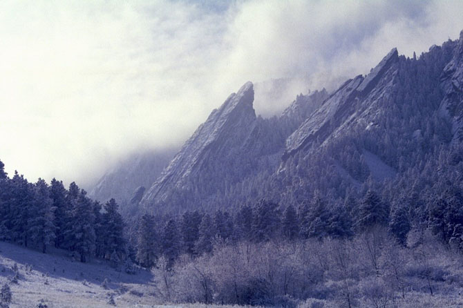 Места, которые красивее зимой
