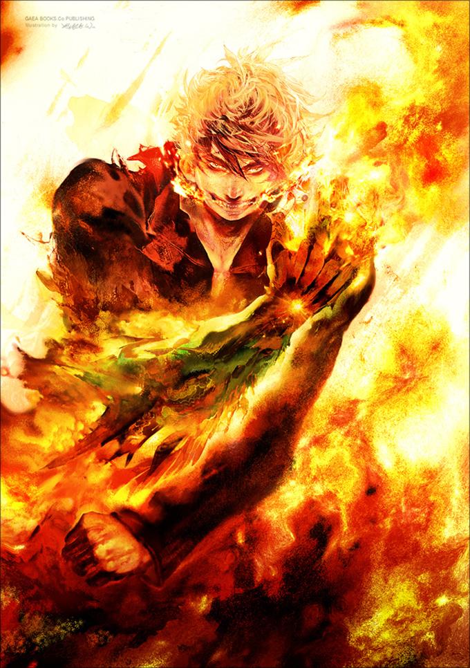 Фантастические персонажи Blaze Wu