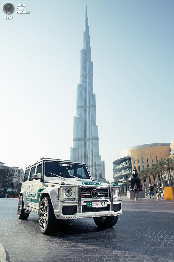 Дубайский полицейский автомобиль от Brabus