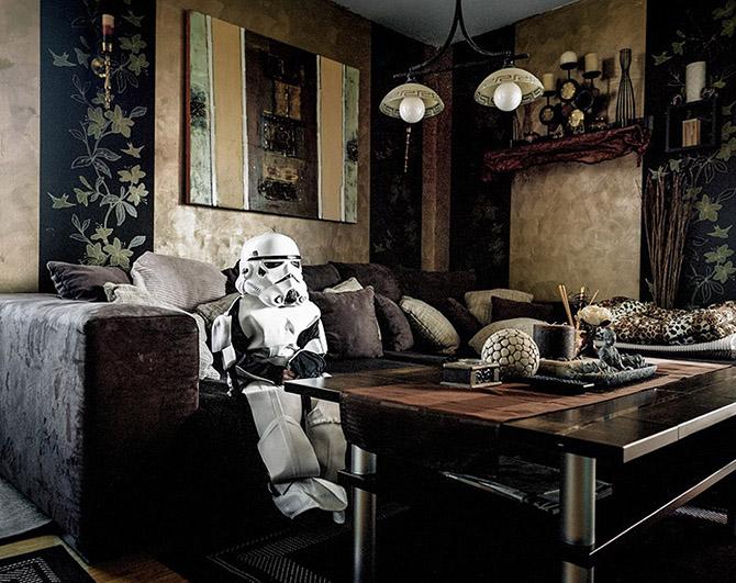 Косплееры у себя дома