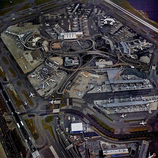 Аэропорты с высоты птичьего полета