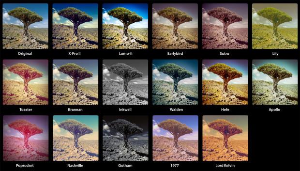 Фотографии в Инстаграме с использованием синих фильтров собирают на 24% больше «лайков»