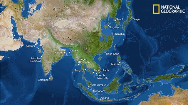 Как бы выглядел мир, если бы весь лед на Земле растаял?