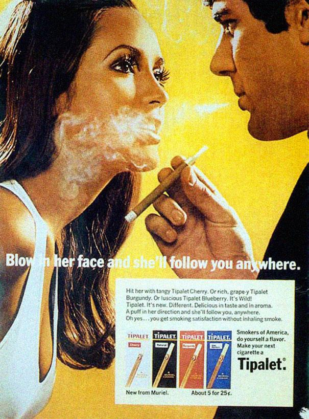 Винтажные рекламы, которые сегодня были бы вне закона
