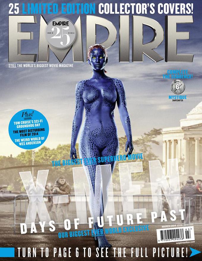 Люди Икс на обложках Empire