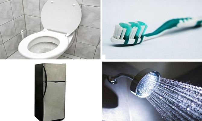 20 «чистых» вещей, которые на самом деле грязнее туалета