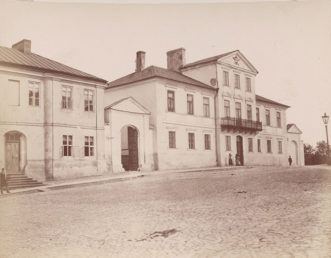 Кельце и Варшавско-Венская железная дорога в 1885 году