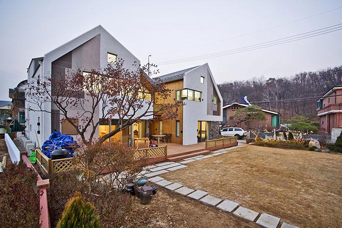 Дом для большой семьи в несколько поколений в Сеуле