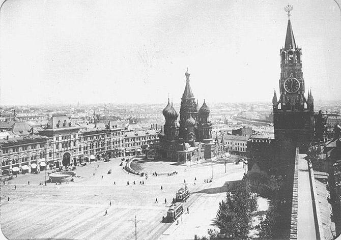 20 завораживающих фото Москвы начала прошлого века