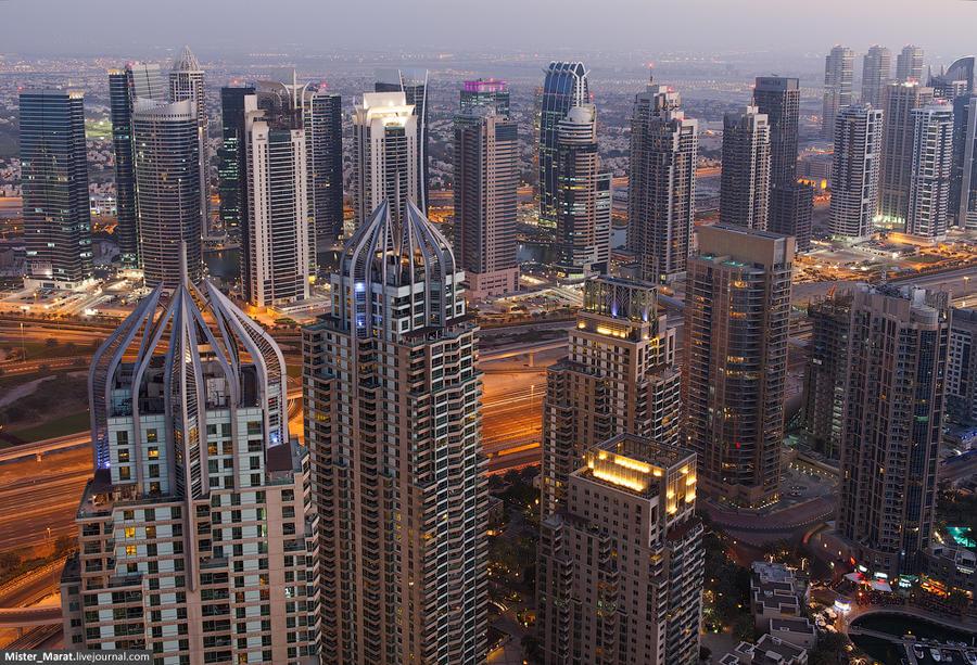 Прогулка по крышам Дубая