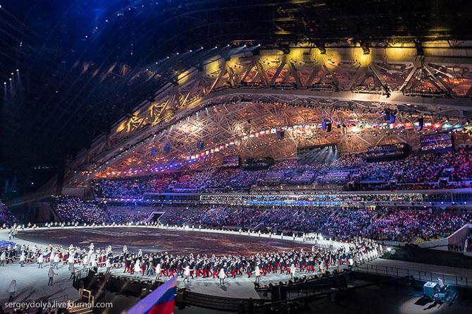 Взгляд на Олимпиаду 2014 с другого ракурса