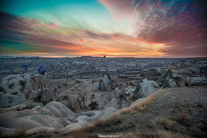 Рассвет в Каппадокии