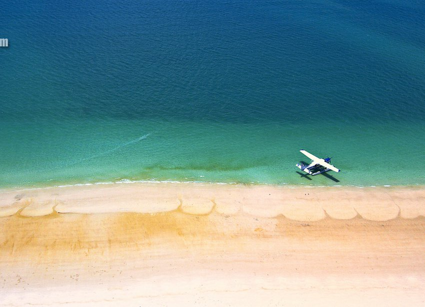 Райский пляж Уайтхэвен-Бич