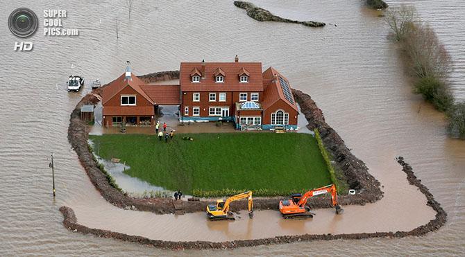 Наводнение в Юго-Западной Англии