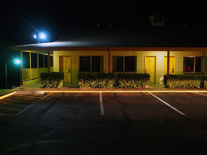 Как выглядят придорожные мотели в США