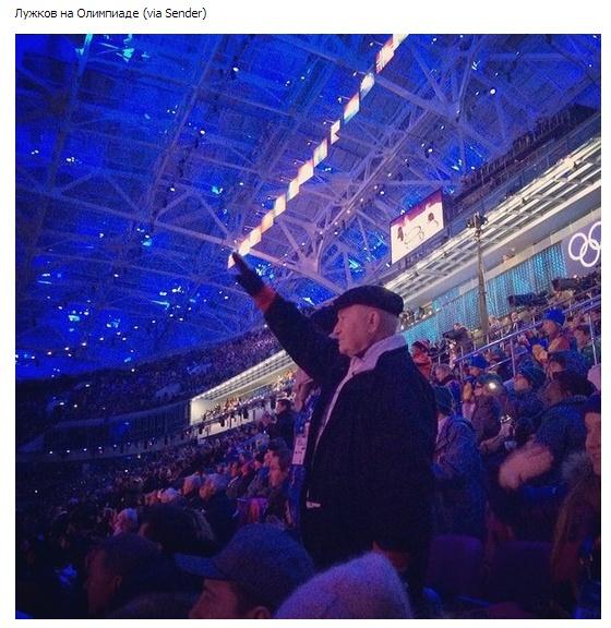 Нераскрывшееся кольцо и другие курьезы во время открытия Олимпиады в Сочи (21 фото)