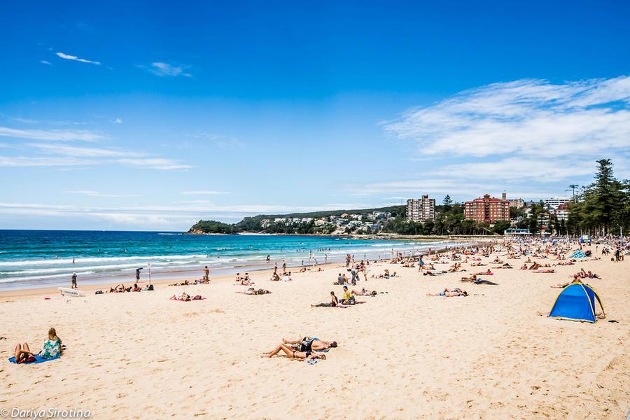 Как устроены австралийские пляжи