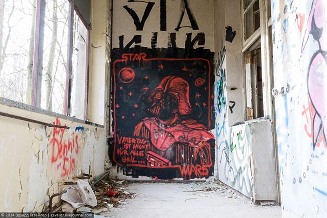 Заброшенная детская больница в Берлине