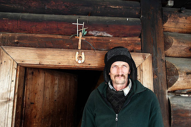В гостях у гуцулов - украинских горцев