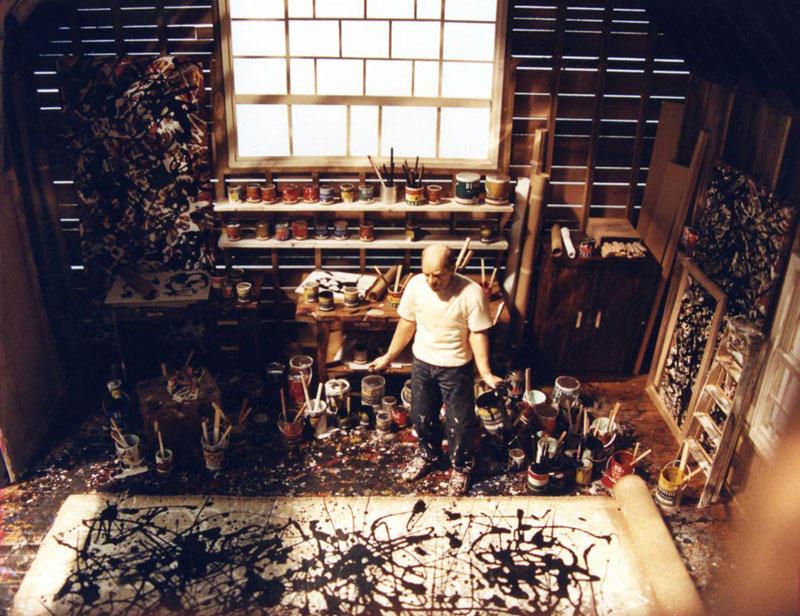 Модели миниатюр известных художников в их студиях