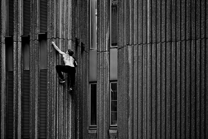 "Фотосерия ""Freerunner"" от Pip"