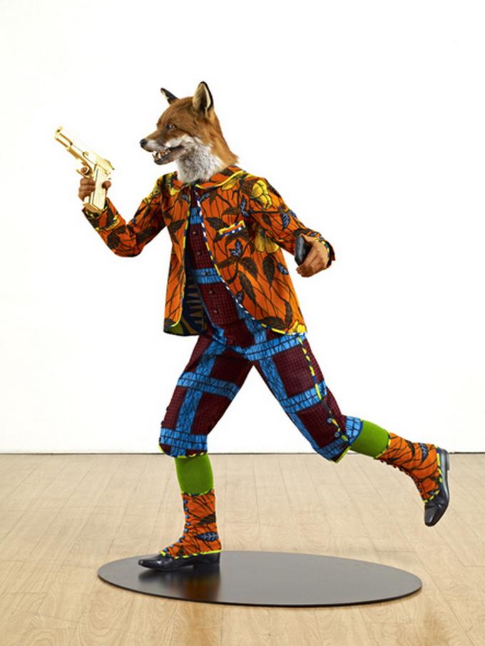Современный художник Yinka Shonibare
