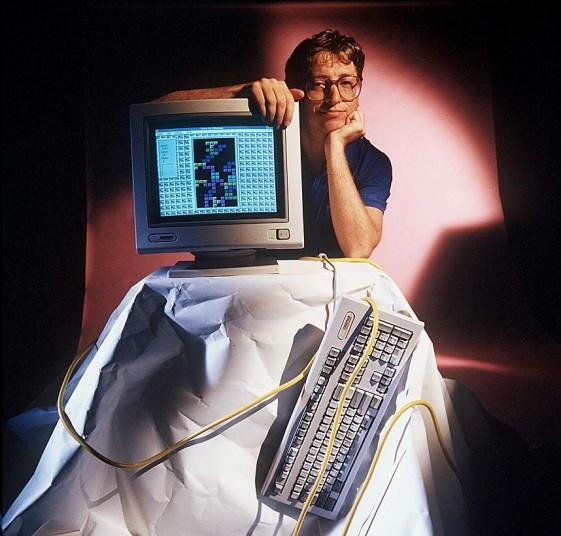 Билл Гейтс в Майкрософт