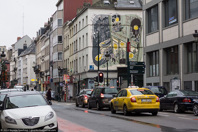 Мальчик и девочка из Брюсселя