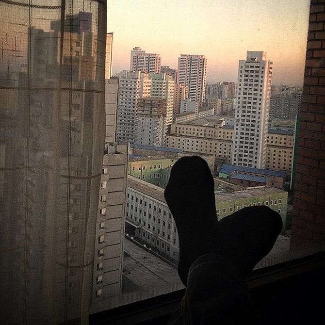 Прогулка по Пхеньяну, столица Чучхе