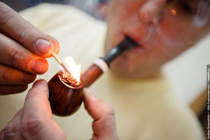 Как делают трубки для курения