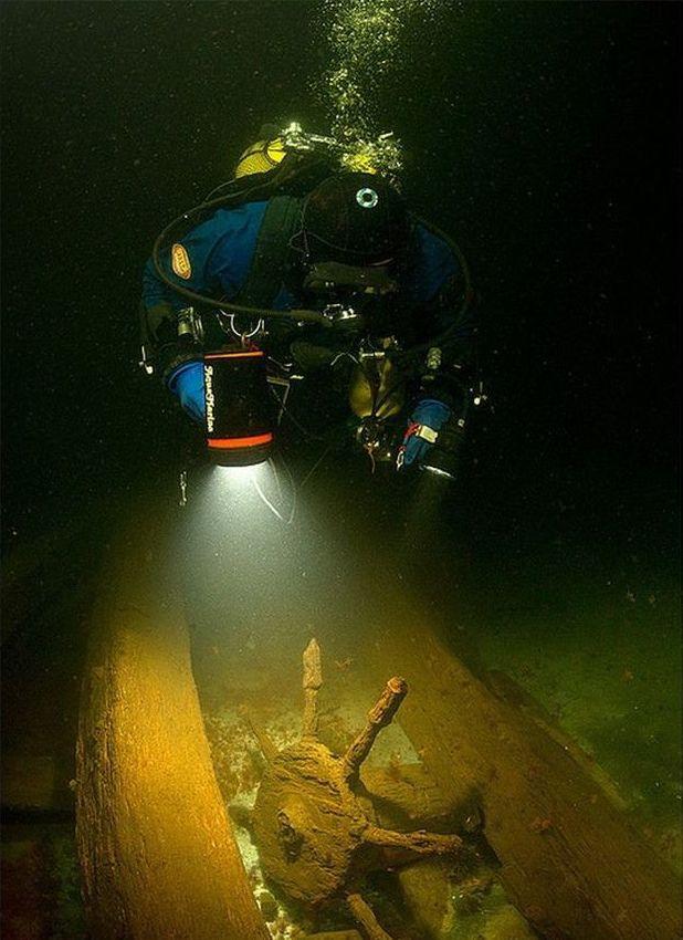 archaeology underwater