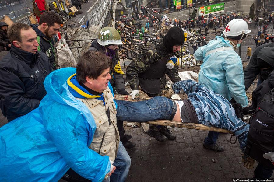 Кровавый четверг на Майдане