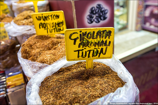Прогулка по рынку специй в Стамбуле