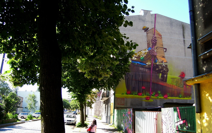 Группа уличных художников Etam Cru