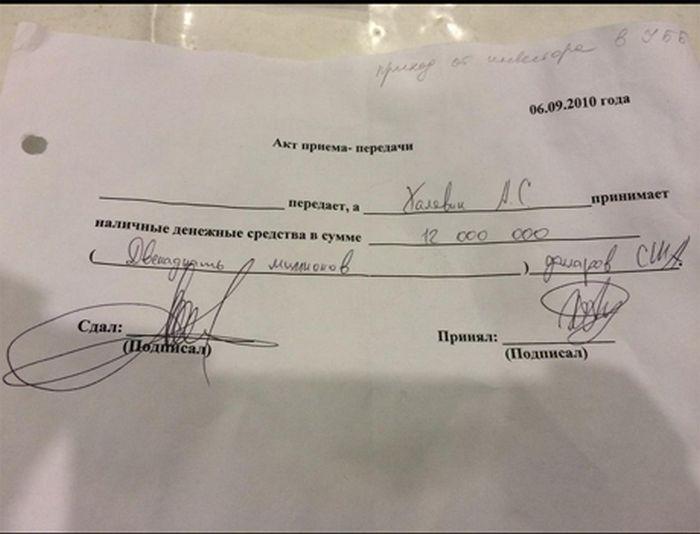 Документы, найденные на территории резиденции Януковича (16 фото)