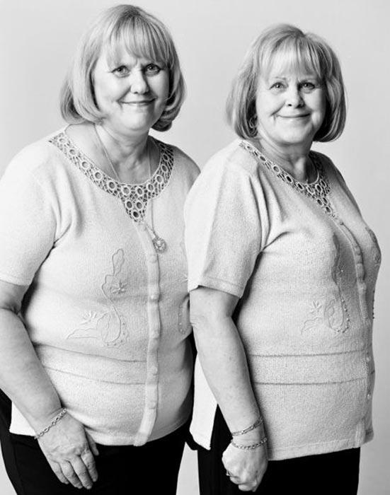 Двойники в фотографиях Francois Brunelle