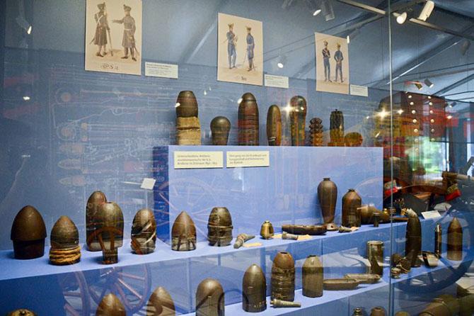 Экскурсия по выставке военных инноваций пяти столетий в Вене