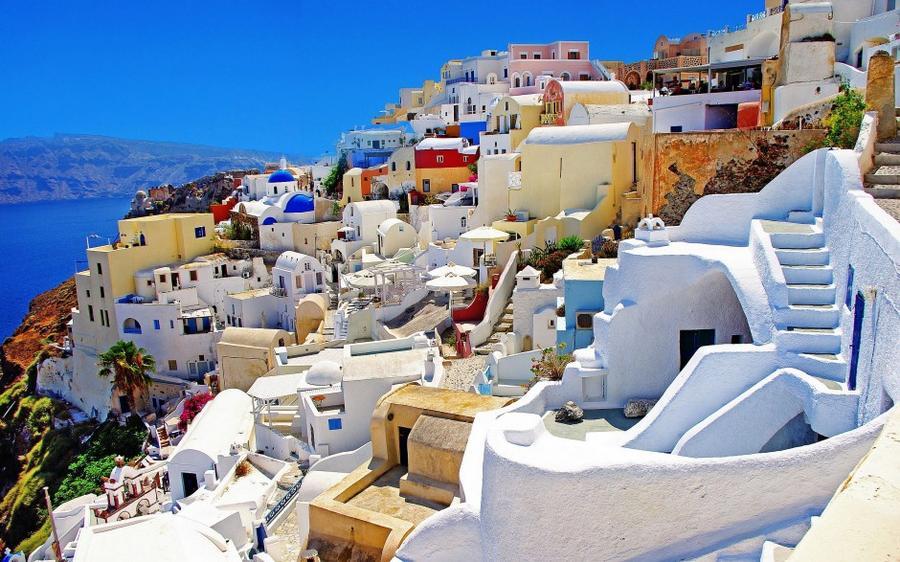 Невероятно красочные места мира