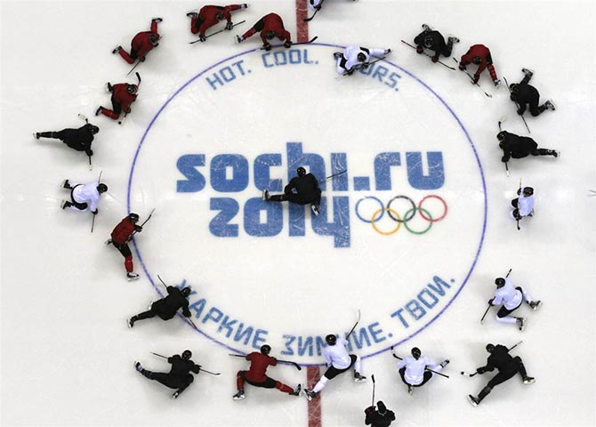 Яркие моменты зимних Олимпийских игр в Сочи (часть 2)