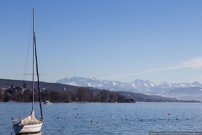 Прогулка по Цюриху