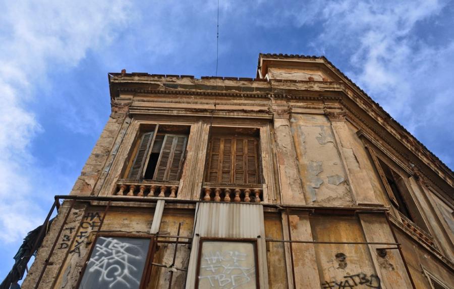 11 фотографий из Афин в эпоху жесткой экономии