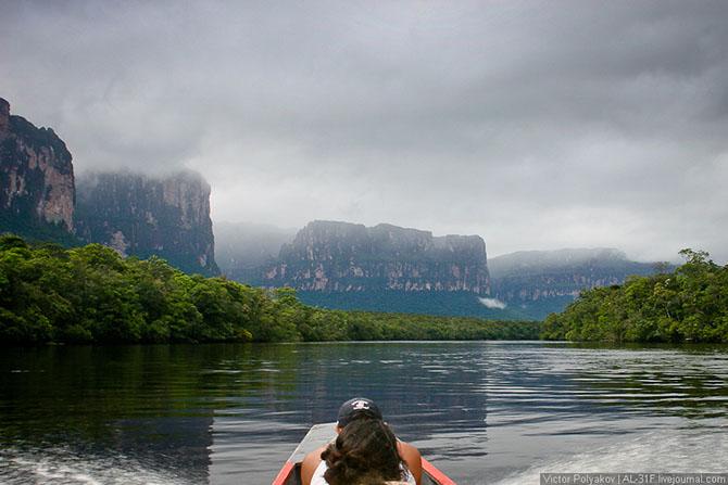 Путешествие к Анхелю - самому высокому в мире водопаду