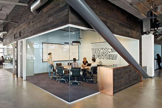 Как устроен головной офис Dropbox в Сан-Франциско