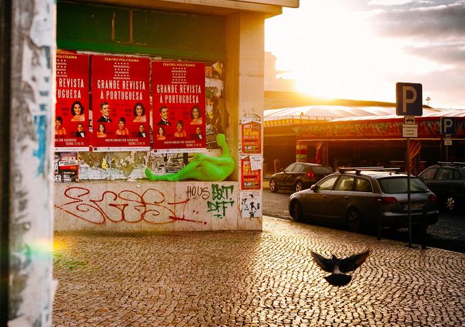 Уличный художник Panda do Transe