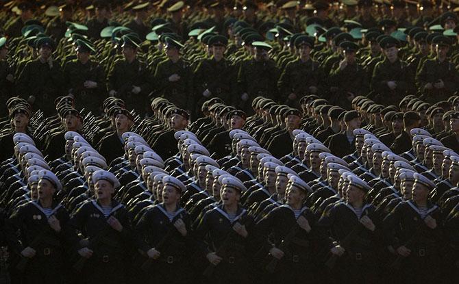 Наши военные
