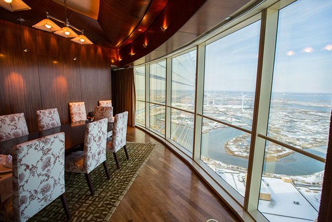 Самый роскошный номер отеля Borgata в Атлантик-Сити