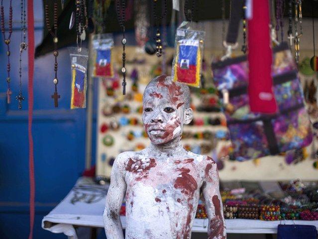 Карнавал в столице Гаити Жакмел