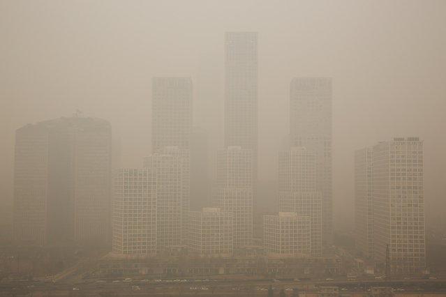 Китайские загрязнения, влияющие на Японию и Южную Корею